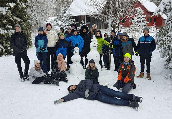 Viele Grüße von der Klasse 7b aus Oderbrück im Harz