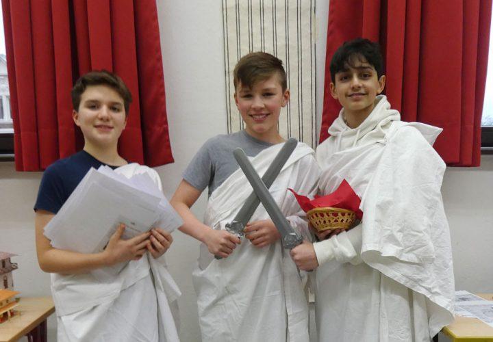 Römer und Griechen beim Tag der offenen Tür