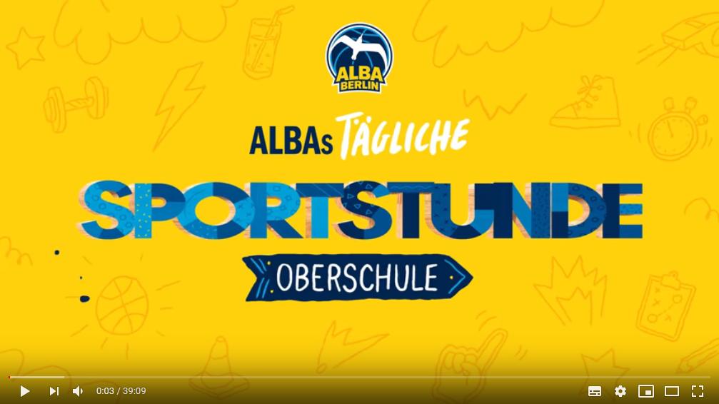 Fit bleiben… auch ohne Sport am WG – ALBAS tägliche Sportstunde