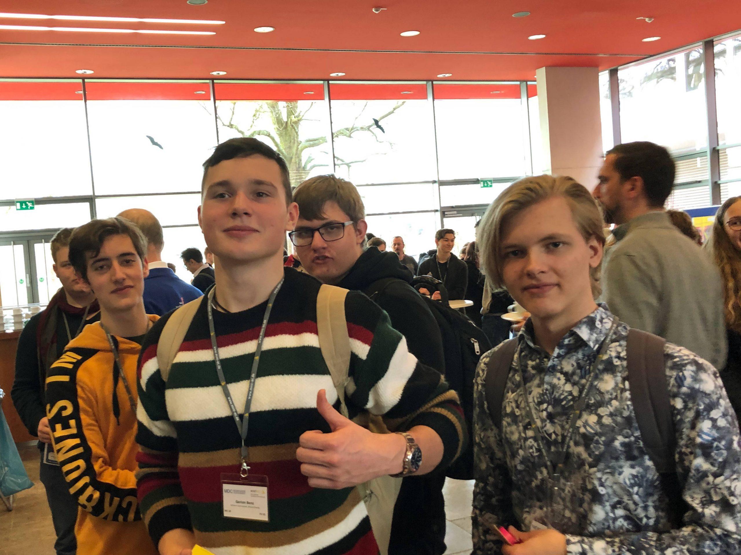 WG-MINTies besuchen das MINT-EC-Digitalforum in Berlin