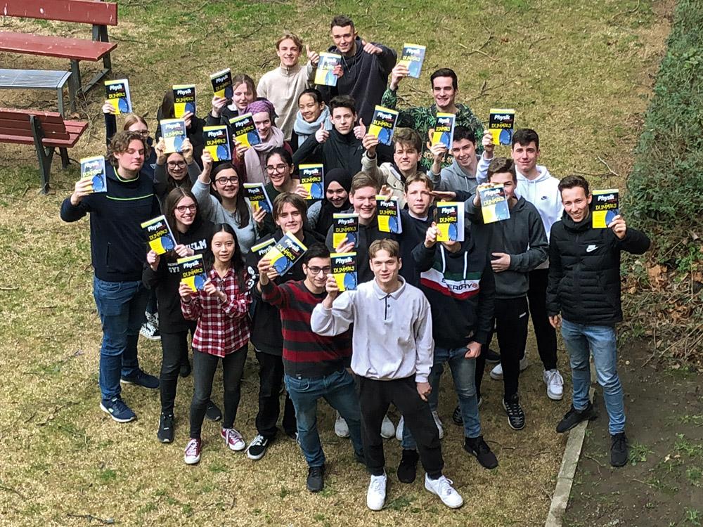 "10m1 gewinnt Klassenpreis bei ""Physik im Advent"""