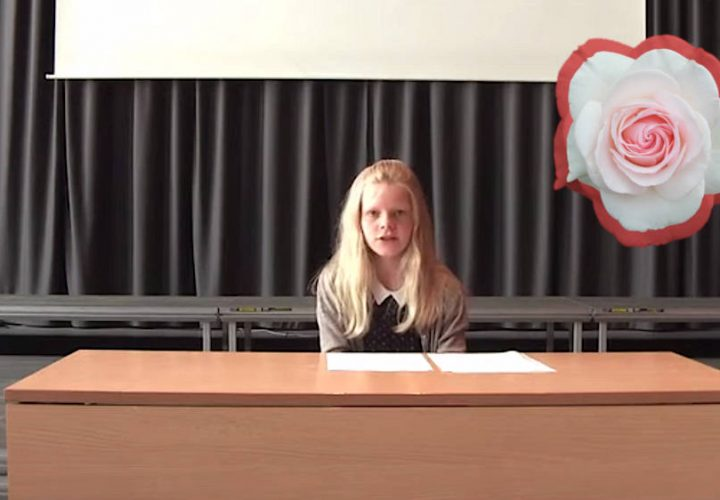 KiS 2020: Helene liest eigene Texte