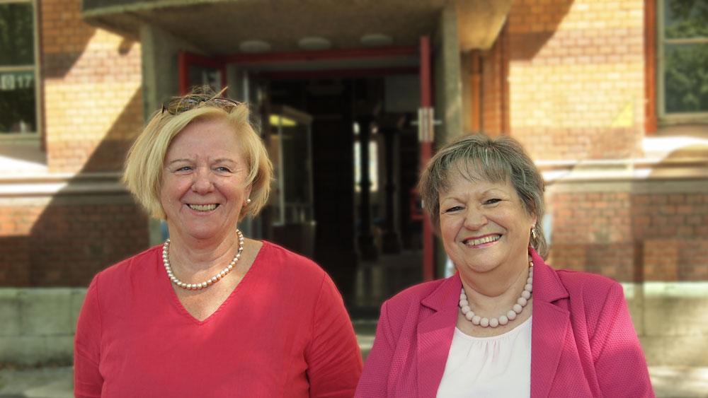 Verabschiedung von Frau Rech und Frau Reineke