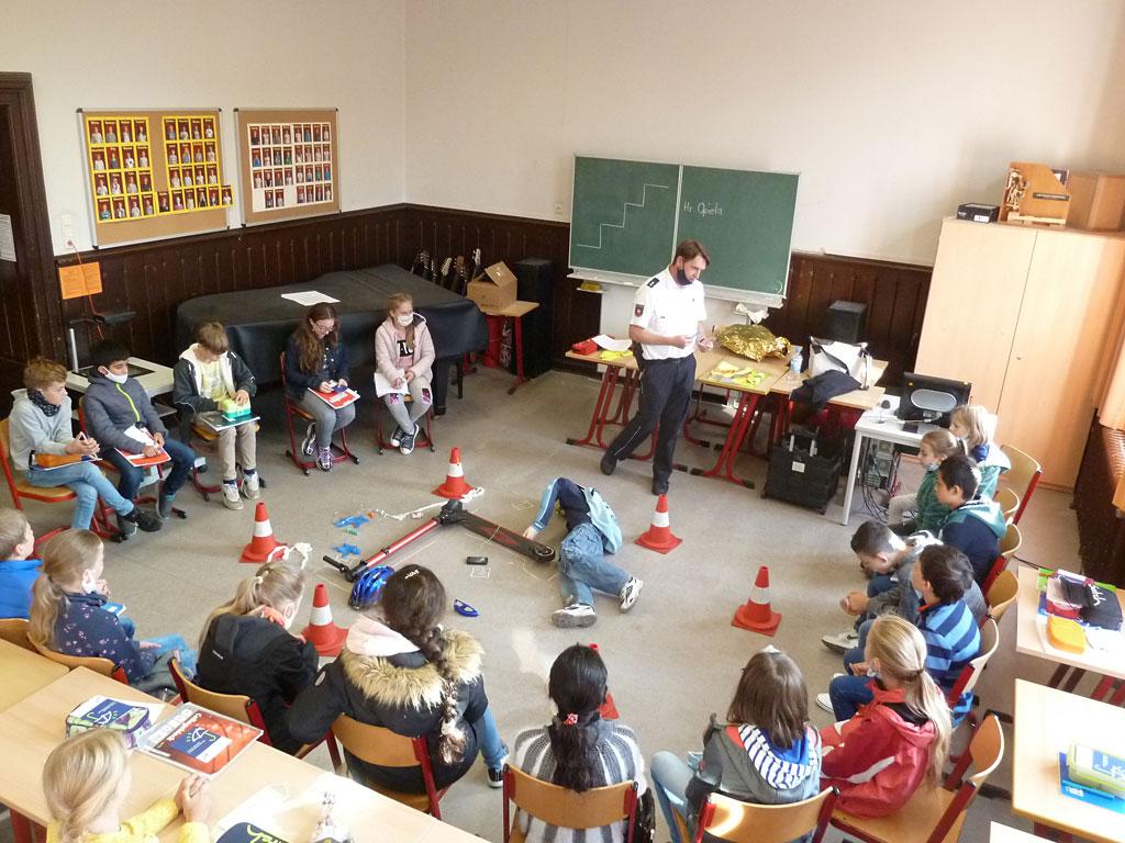 Mobilitätstag der 5. Klassen